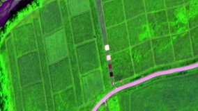 Airborne hyperspectral data over Wood River, NE from August 23rd 2017.