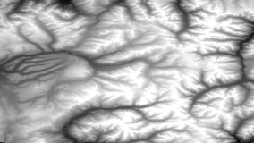 Terra ASTER Digital Elevation Model data over Colorado, United States