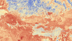 ECOSTRESS land surface temperature data from the ECO2LSTE product over Idaho, United States acquired on September, 02 2018.