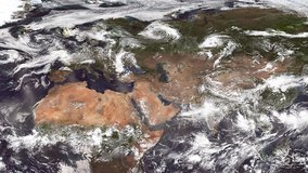 VIIRS data over Europe.